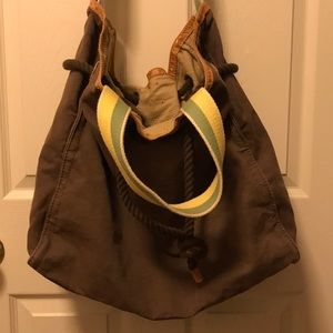 Large canvas Gap bag.